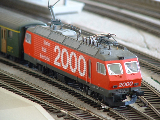 Bahn 2000 locomotive